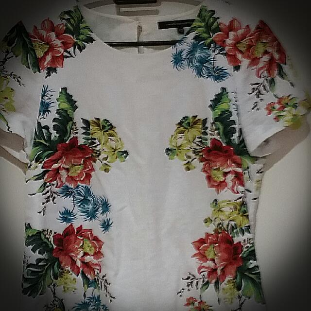 French Connection Floral Top
