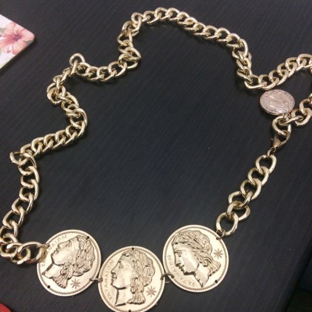 Gold Chains Belt