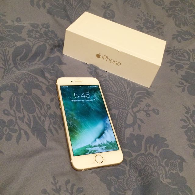 GOLD IPHONE 6 (Rogers)