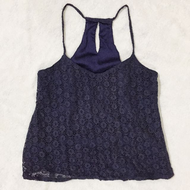 Sleeveless / Lace Top