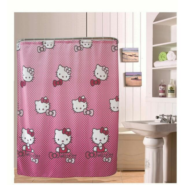Hello Kitty Shower Curtain Bulletin Board Preorders On Carousell