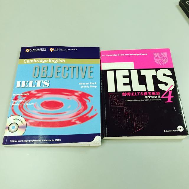Ielts雅思考試用書/Cambridge English IELTS模考聖經