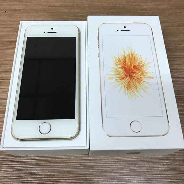 Iphone SE 金色 64g