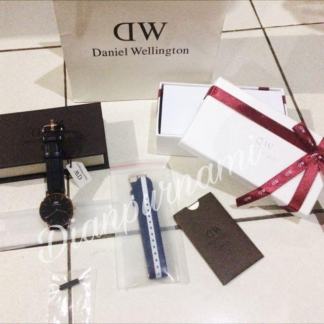 Jam Daniel Wellington (kelengkapan)