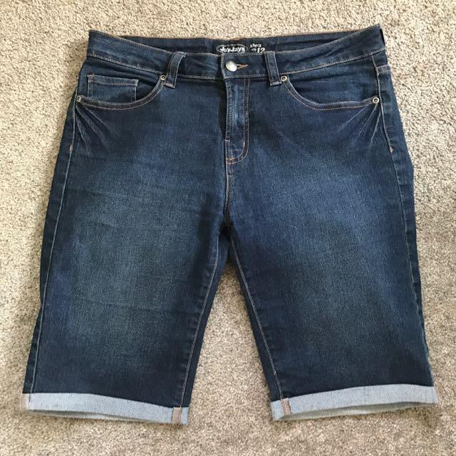 Jay Jay's Denim Shorts