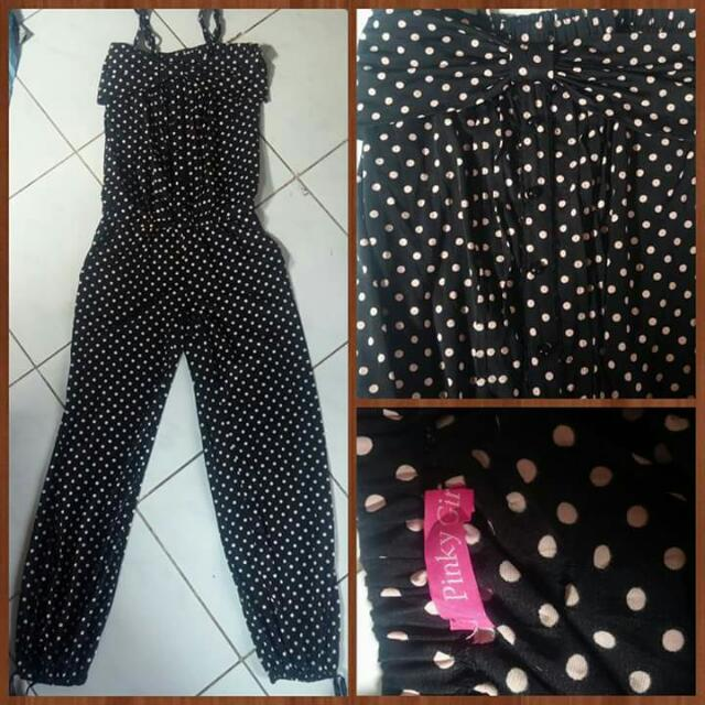 Jumpsuit Brend Pink Girl
