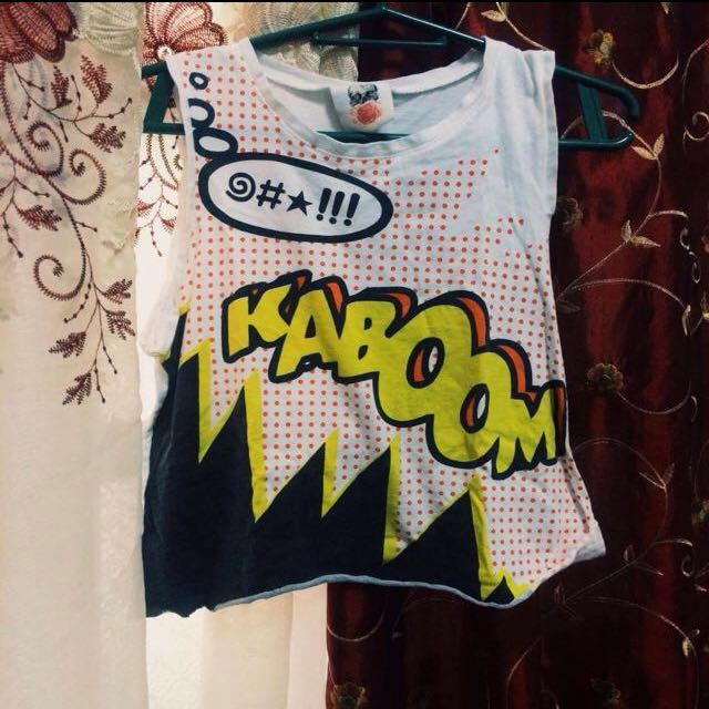 Kaboom Tank Top