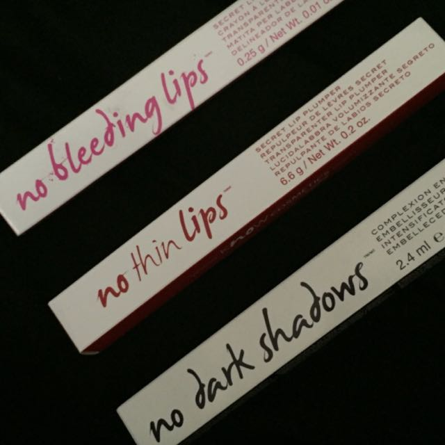 Know Cosmetics Lip Liner, Lip Plumper, and Concealer