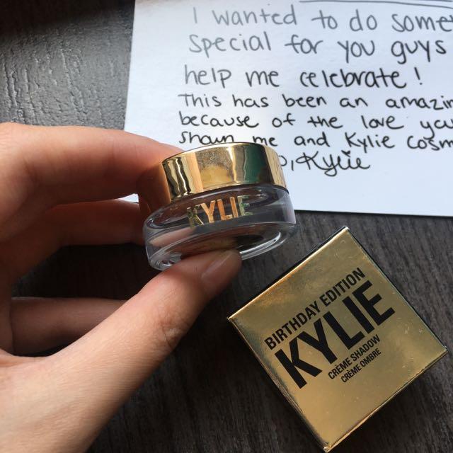 Kylie Cosmetic Creme Eyeshadow