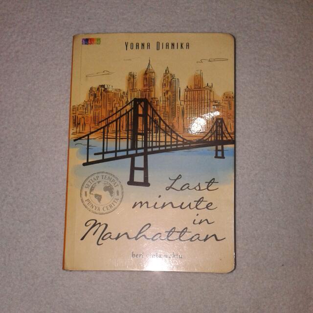 Last Minute In Manhattan