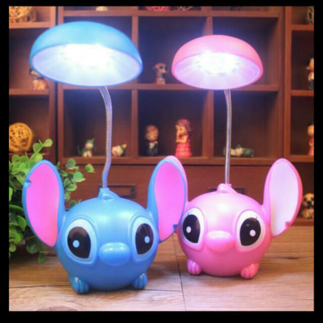 史迪奇LED夜燈/台燈-藍