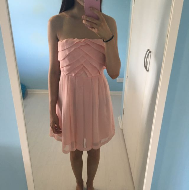 Light Pink Miss Shop Dress