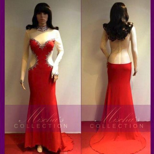 Long Gown For Rent Everything Else Others On Carousell