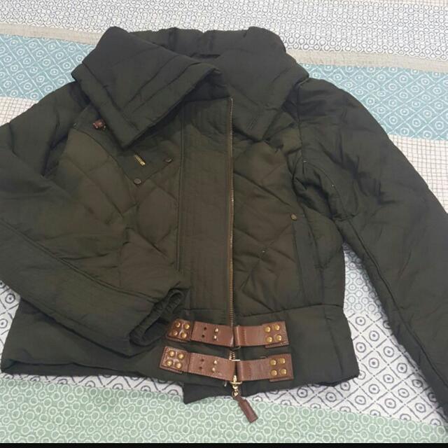 Mango Feather Jacket