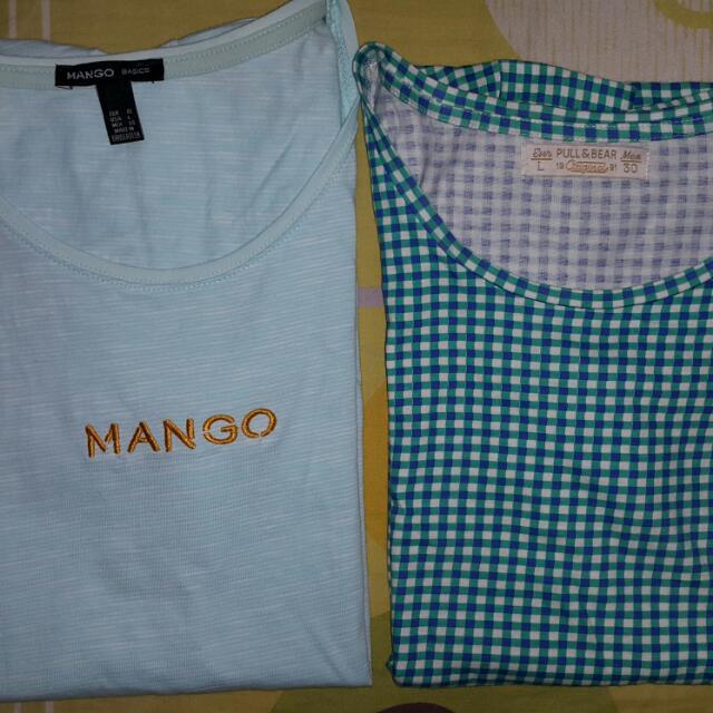 Mango/Pull & Bear top