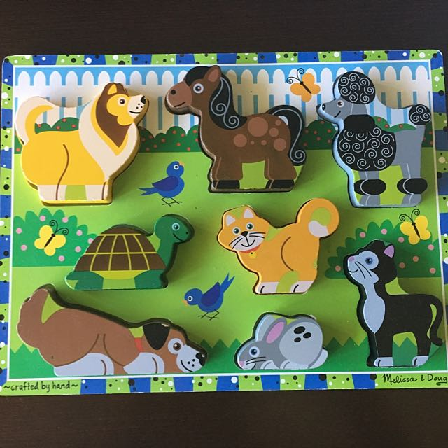 Melissa and Doug animal Puzzle