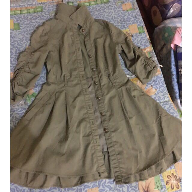 Military Like Dress Like Korean