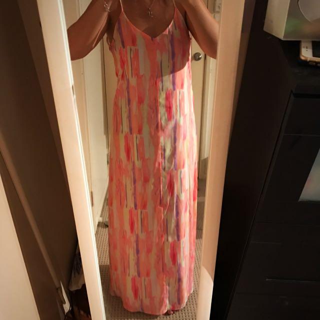Noughts & Crosses Maxi Dress