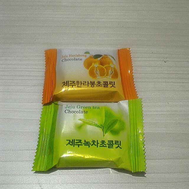 Paket Coklat Sunkiss dan Green Tea