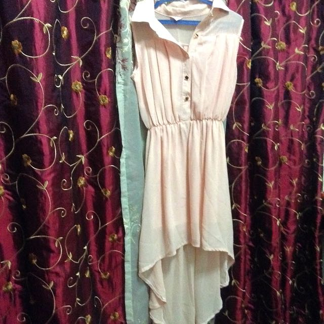 Pastel Pink Mullet Dress