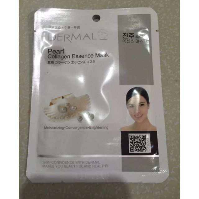 Pearl with collagen Face Mask