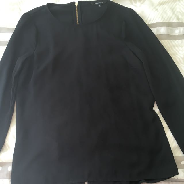 Portmans Black Blouse