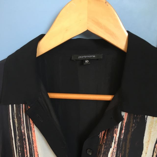 Portmans Size 10 Shirt Dress