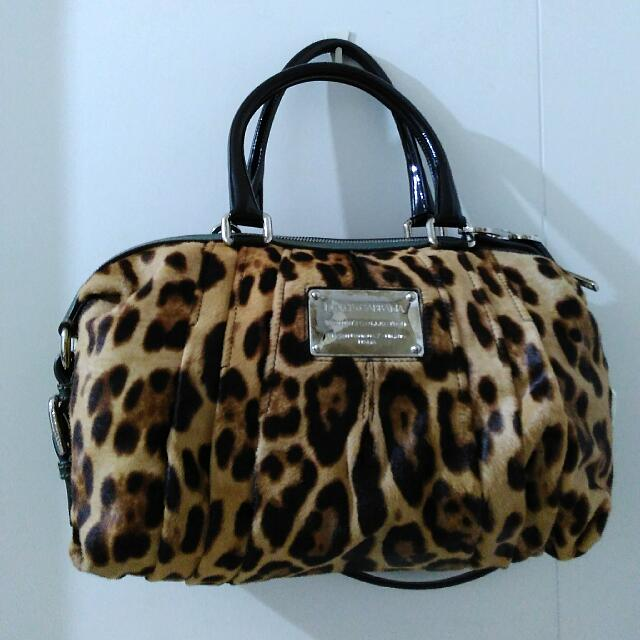 Preloved Dolce&Gabbana Leopard Bag