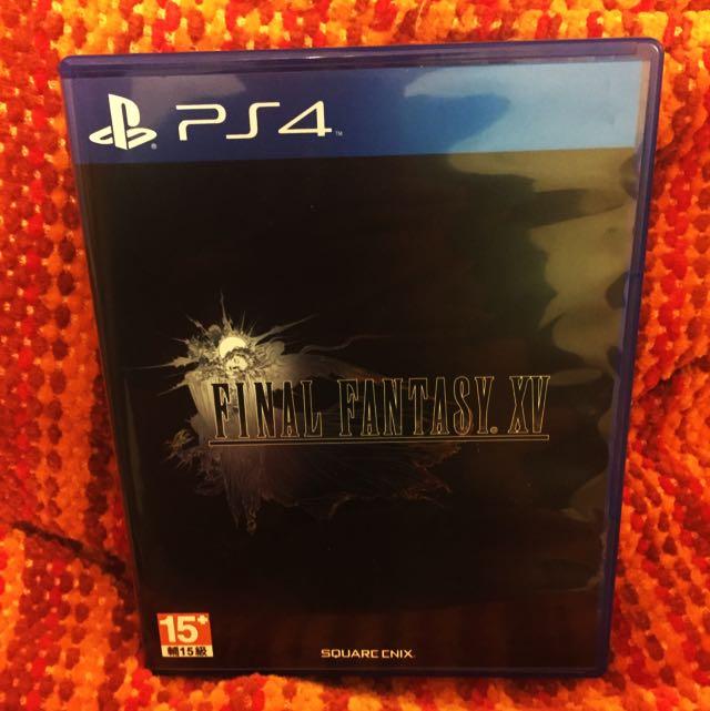 PS4二手遊戲《FFXV》