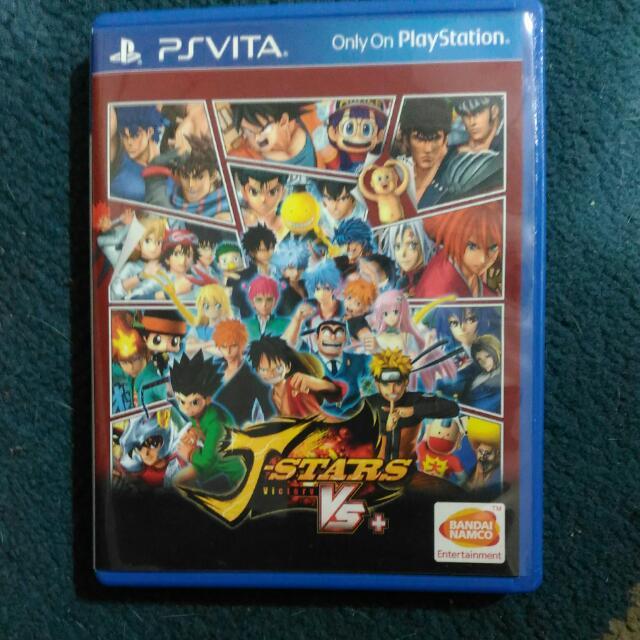 PS Vita J-Stars Victory Vs+, Toys & Games, Video Gaming