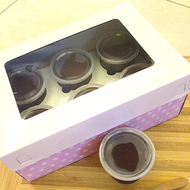 Pudding Coklat Fla Coklat