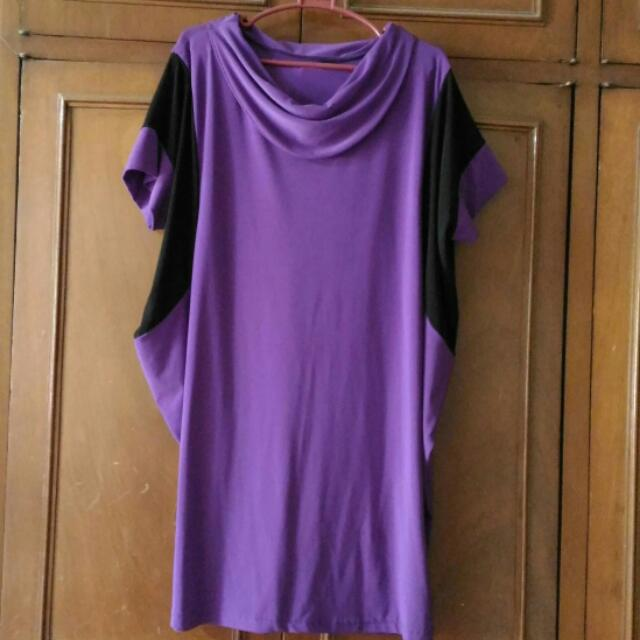 Purple Loose Dress