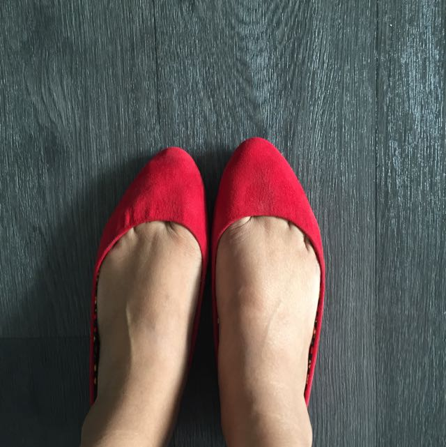 Red Ballet Shoes