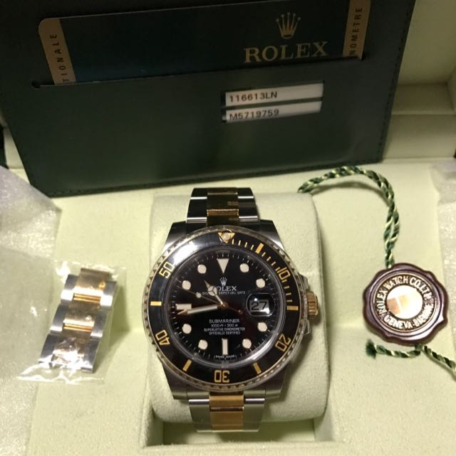 Rolex 116613ln Submariner Tt For Sell