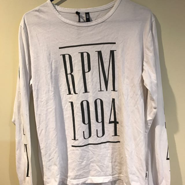 RPM Long Sleeve Top