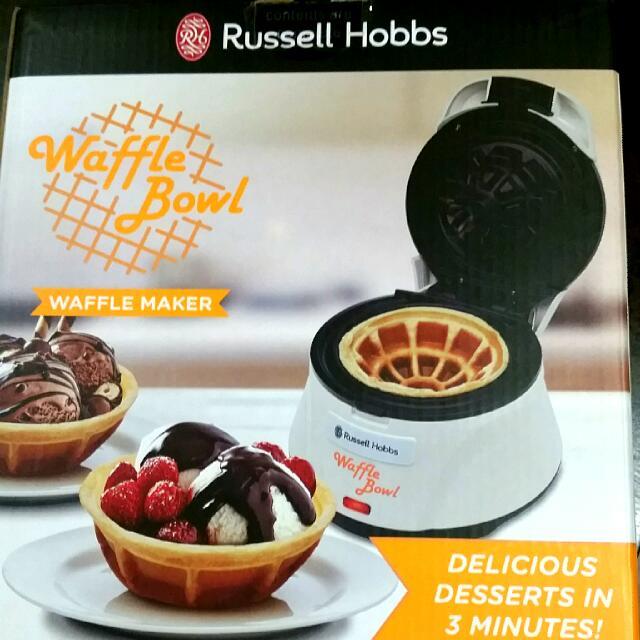 Russell Hobbs Waffle Bowl Maker