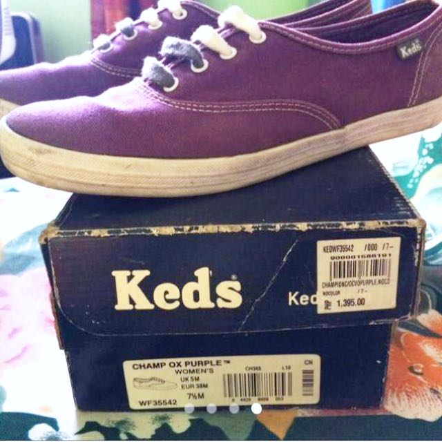 Sale!!! Original Purple Keds