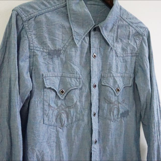 Selvedge Westernshirt Japan