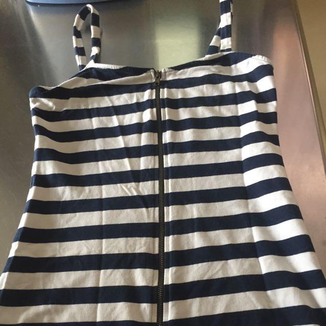 Sexy Zip Up Dress (Brand: Kamiseta)