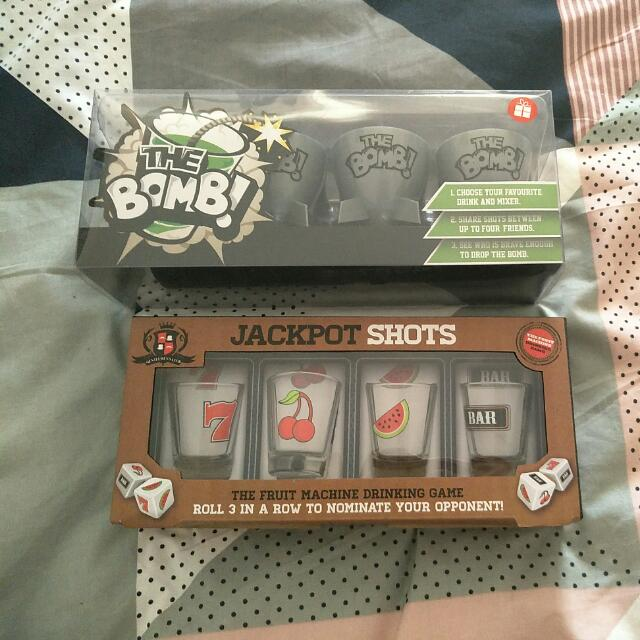 Shot Glasses & Jagger Bomb Cups