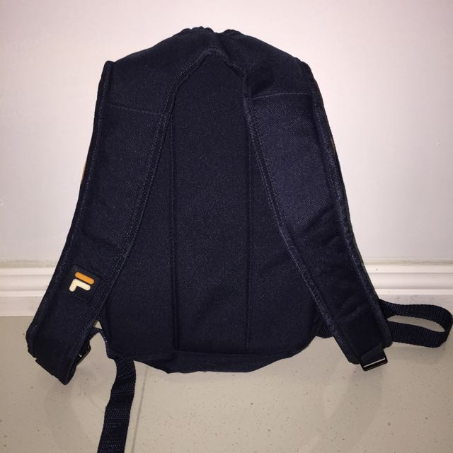 Small Vintage Retro FILA Backpack