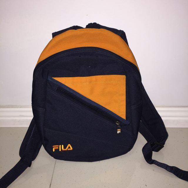 Small Vintage/Retro FILA Backpack