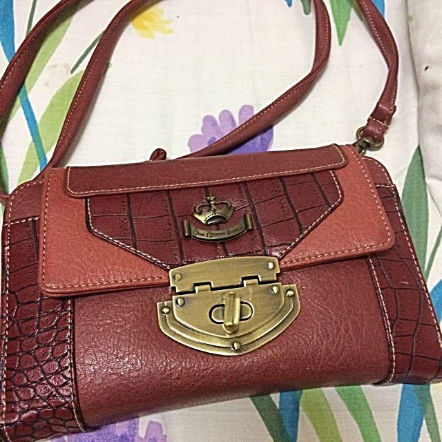 Sophie Martin Red Shoulder Bag