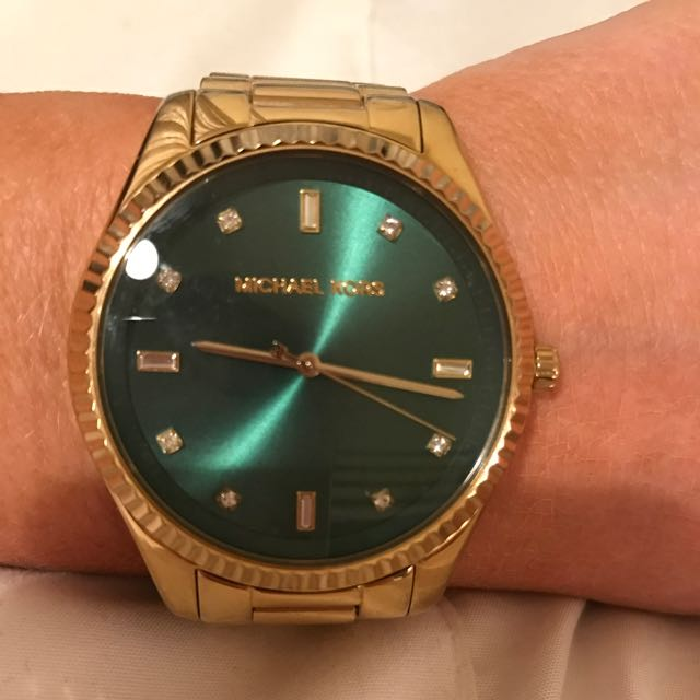 Stunning Emerald Green Michael Kors Watch