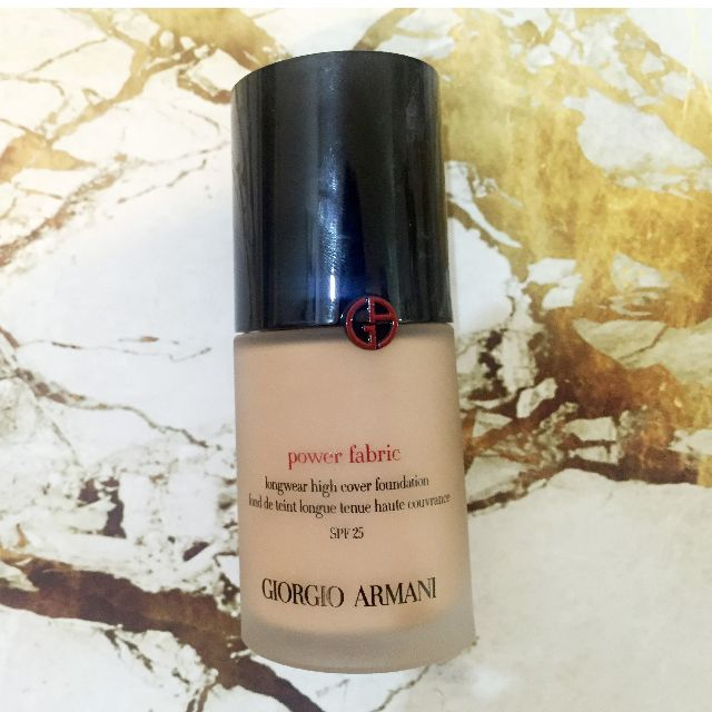 SUPER AFFORDABLE Giorgio Armani Power Fabric Foundation shade 5.5 *used once, like new*