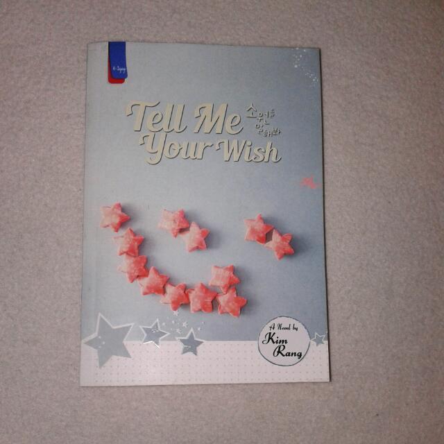 Tell Me Your Wish (K-Iyagi)