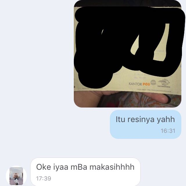 Testimoni Dari Customer😘 TRUSTED ya Sisters 😘