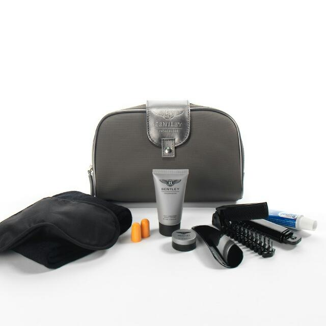 TRAVEL KIT BENTLEY FROM BUSSINES CLASS TURKSIH AIRLINES