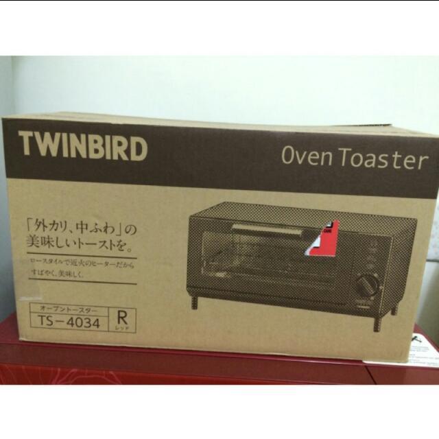 TWINBIRD TS4034R 吐司紅烤箱