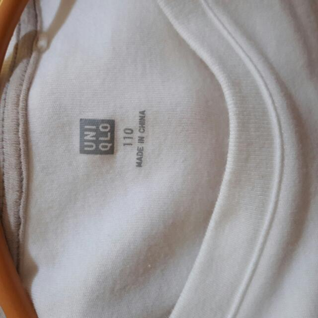Uniqlo White Longsleeve